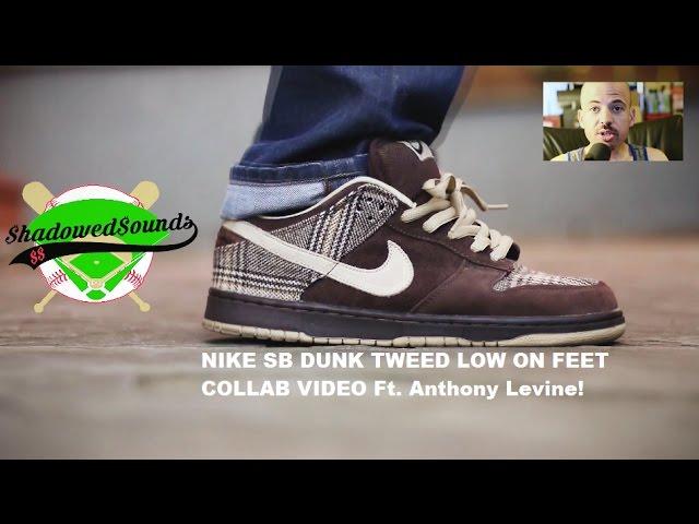 nike dunk tweed low