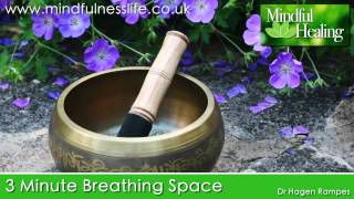 3 min breathing space: Mindfulness Meditation Practice, MBCT Breathing Space
