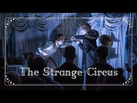 The Strange Circus // Cabaret & Stunt Performer Show // Book at Warble Entertainment