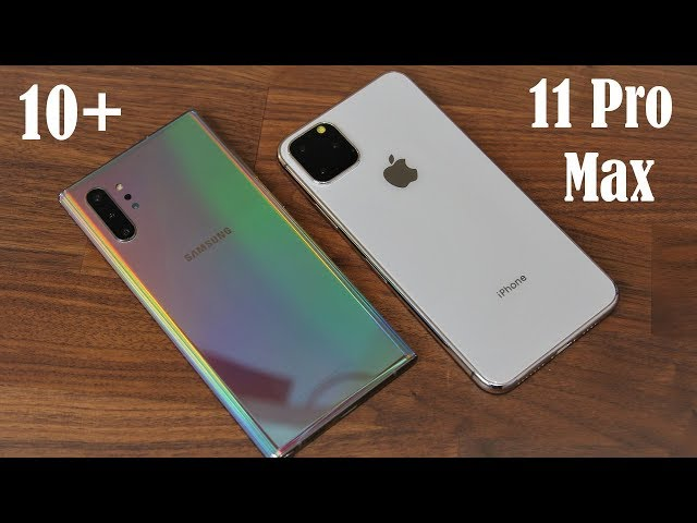 Galaxy Note 10 Plus vs iPhone 11 Pro Max - Which one is BETTER?