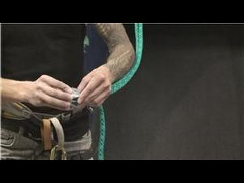 Rock Climbing : How to Rappel Off a Fixed Line