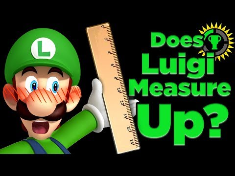 Game Theory: Does Luigi MEASURE Up? (Super Mario)