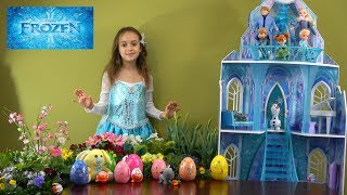 Video Princess Story: It is Easter and Frozen Princess Anna and Elsa Get Surprise Eggs from Easter Bunny download MP3, 3GP, MP4, WEBM, AVI, FLV Maret 2018