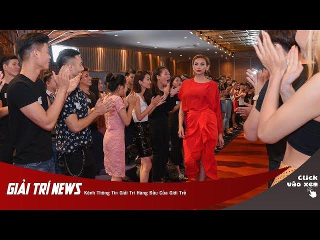 Màn trổ tài catwalk của siêu mẫu Võ Hoàng Yến tại casting The Face Việt Nam 2018