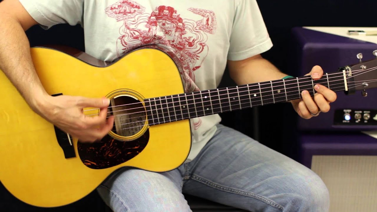 Maroon 5 Daylight Easy Acoustic Guitar Lesson Beginner