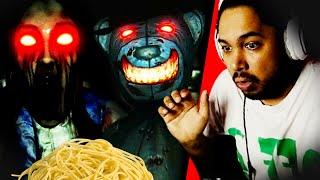Ne touche surtout pas à ces spaghettis !