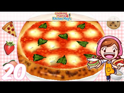 Let S Play Cooking Mama 4 Kitchen Magic Ep20 Pizza