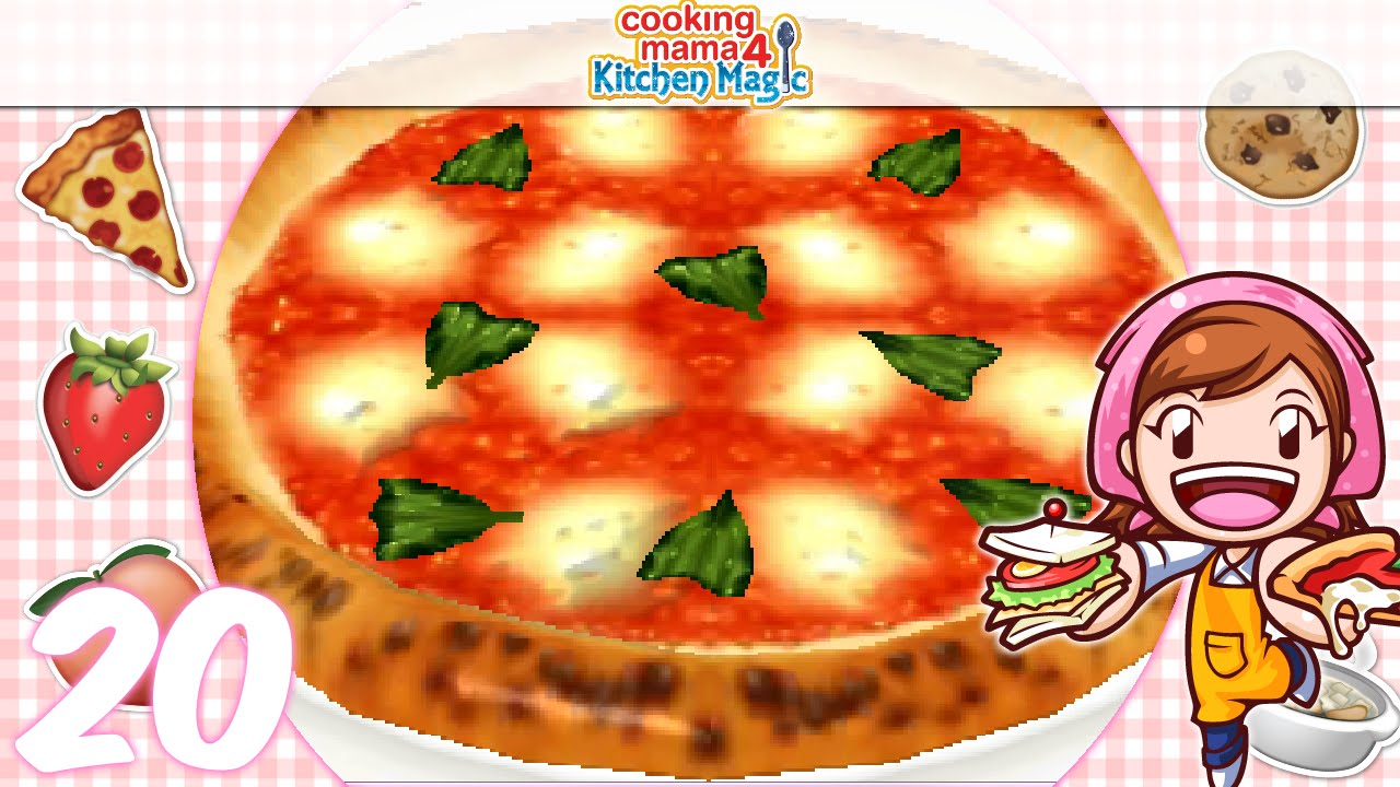Let S Play Cooking Mama 4 Kitchen Magic Ep20 Pizza ʖ