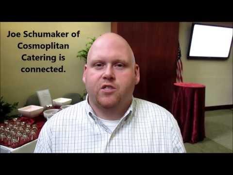 Joe Schumaker of Cosmopolitan Catering