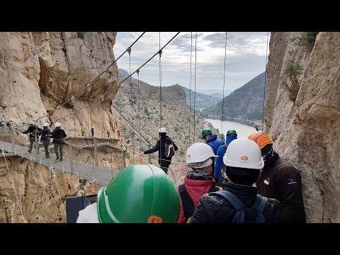 Caminito del Rey, Gorgeous Gorge