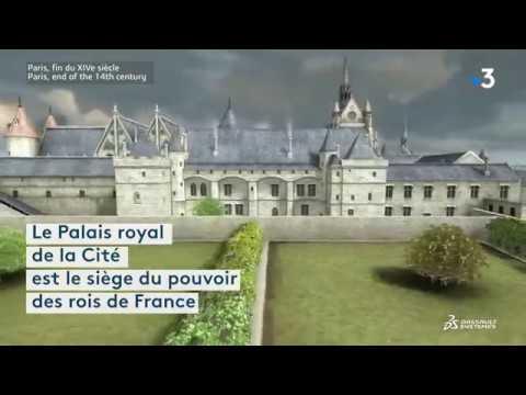 Voici à quoi ressemblait l'île de la Cité au Moyen Âge