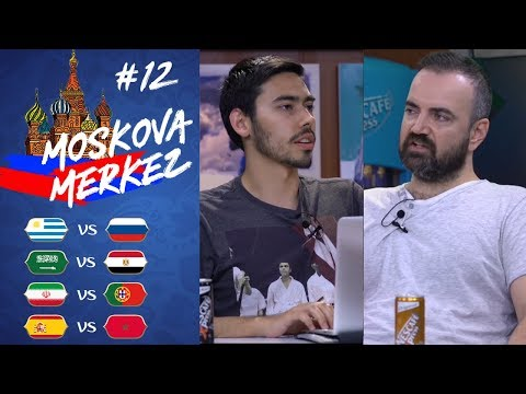 Kupada 12. Gün: Uruguay-Rusya, S. Arabistan-Mısır, İran-Portekiz, İspanya-Fas | Moskova Merkez #12