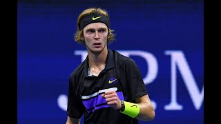 Andrey Rublev vs. Nick Kyrgios | US Open 2019 R3 Highlights