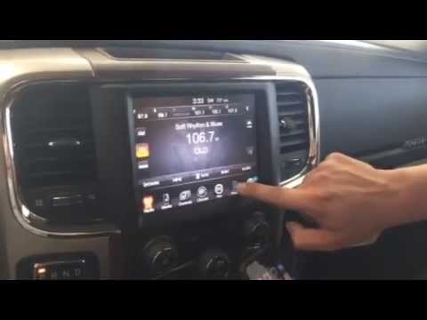Iphone Pairing On 2015 Ram 1500 Uconnect 8 4 An Youtube