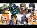 Super Smash Bros Ultimate - All New Characters Gameplay Showcase