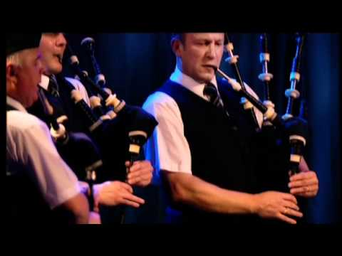 Strathclyde Police Pipe Band live at the MG ALBA Scots Trad Music Awards 2008 set 2