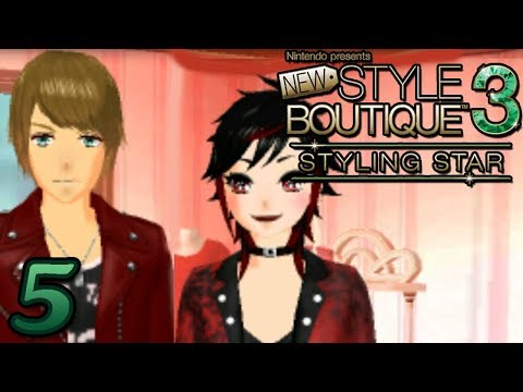 New Style Boutique 3 Styling Star ~ 1ST BOY AT THE BOUTIQUE Part 5 ~ Gameplay Walkthrough