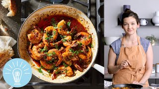 Toni Tipton-Martin & B. Smith's Louisiana BBQ Shrimp | Genius Recipes