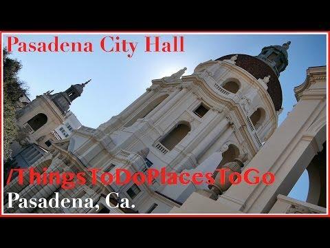 Pasadena City Hall California w/ Wedding Photos / Address & Parking Info | Things to Do in Pasadena