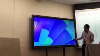 윈도우 스틱PC 시연 영상