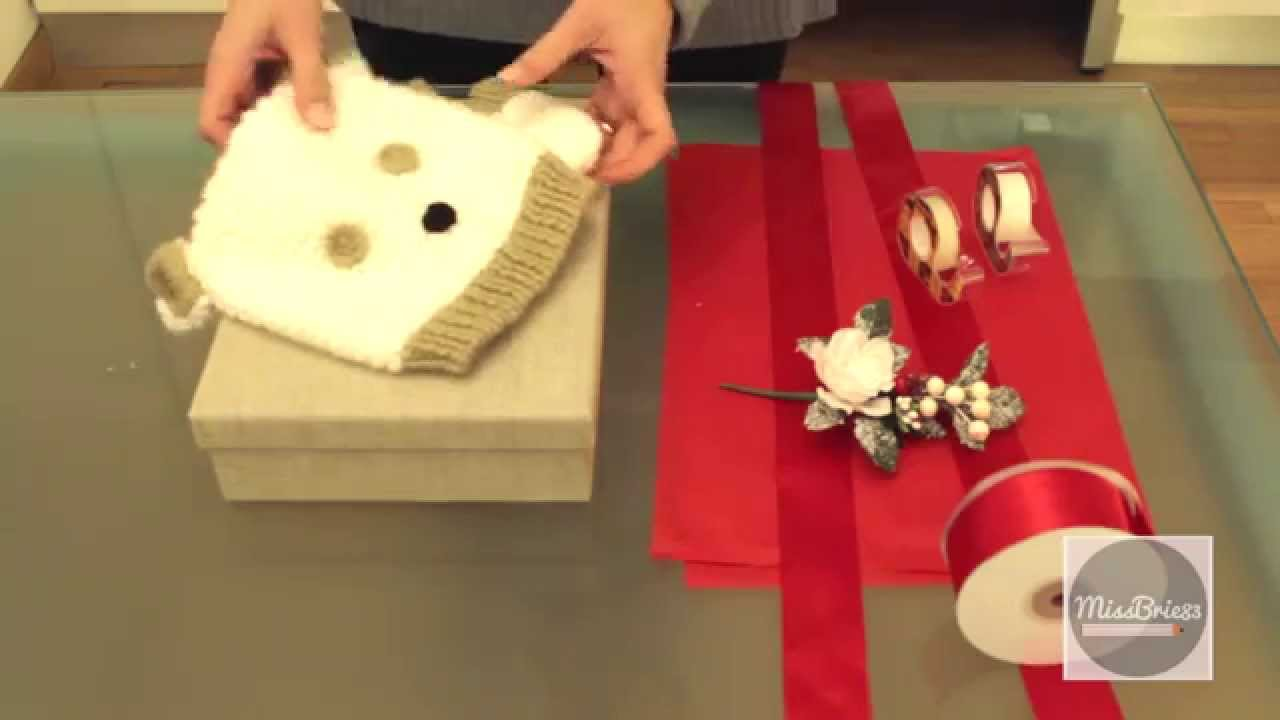 Come Fare Pacchetti Natalizi tutorial: come fare un pacchetto di natale (christmas packaging)