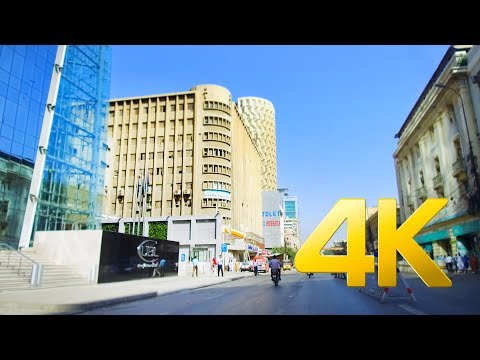 I.I. Chundrigar (Ibrahim Ismail Chundrigar) Road Drive - Karachi - 4K Ultra HD