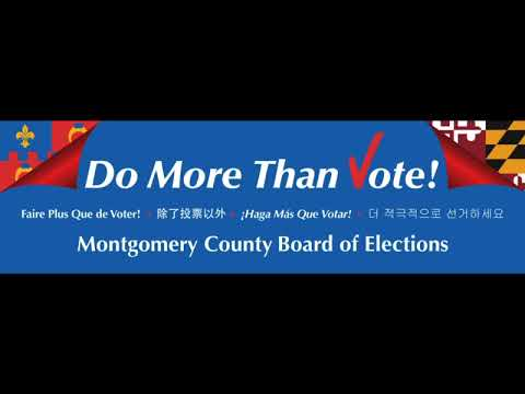 Montgomery County Board of Elections: Home Page