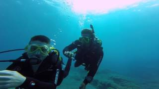 Connor & Alan Diving in Gran Canaria with Blue Water Diving July 2015