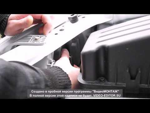 ZAZ VIDA Chevrolet Aveo tyning замена штатных габаритных ламп на LED