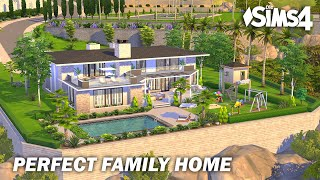 Perfect Family Home | No CC | Stop Motion | Sims 4