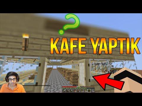 KAFE YAPTIK | Minecraft Türkçe Survival - Gökyüzü Macerası #8