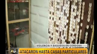 Cómo quedó Córdoba tras los destrozos: habla una víctima - Telefe Noticias