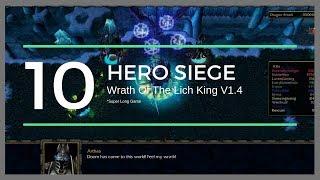 Warcraft 3 : Hero Siege #01 - Freaking Long Game