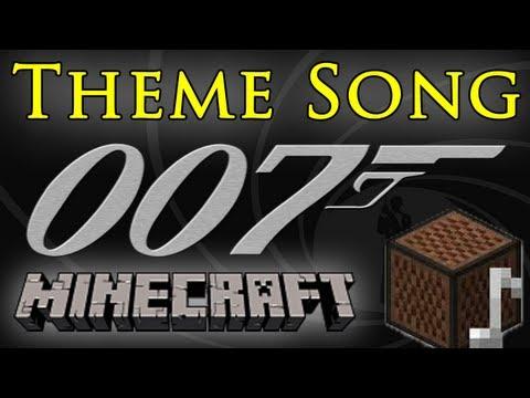 James Bond 007 Theme Song - Minecraft Note Blocks ♫