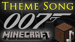 James Bond 007 Theme Song - Minecraft Note Blocks ♫