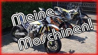 Meine Maschinen/Husqvarna 701/KTM RC125/Derbi Senda X-Treme 50