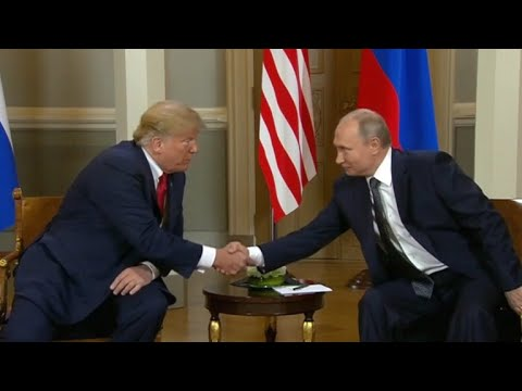 President Trump, Vladimir Putin hold high-stakes meeting in