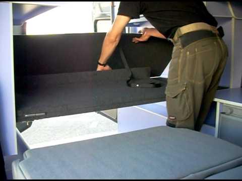 am nagement ford transit en camping car youtube. Black Bedroom Furniture Sets. Home Design Ideas