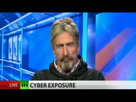 "John McAfee: ""Shame on the CIA"" (full interview)"