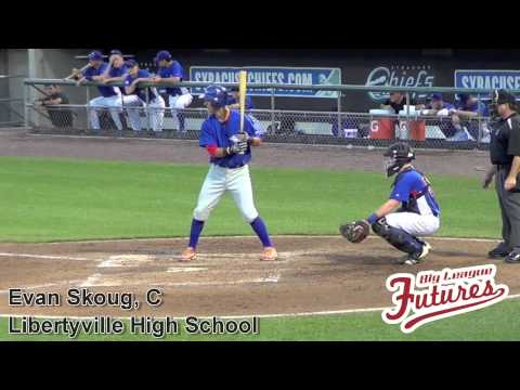 Evan Skoug Prospect Video, C, Libertyville High School #mlbdraft