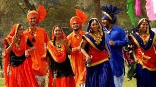 Giddha Bhangra Dance By Girls, Teej Tiyan Celebration In Melbourne Australia, Punjabi Indian Culture
