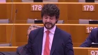 """Intervento di Brando Benifei, capo delegazione PD, su """"Azione coordinata dell'UE per combattere la pandemia di COVID-19 e le sue conseguenze"""""""