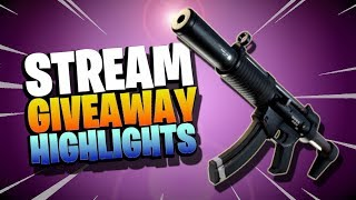 Stream *GIVEAWAY* Highlights | Fortnite Save the World *USING MARBLES*!!!