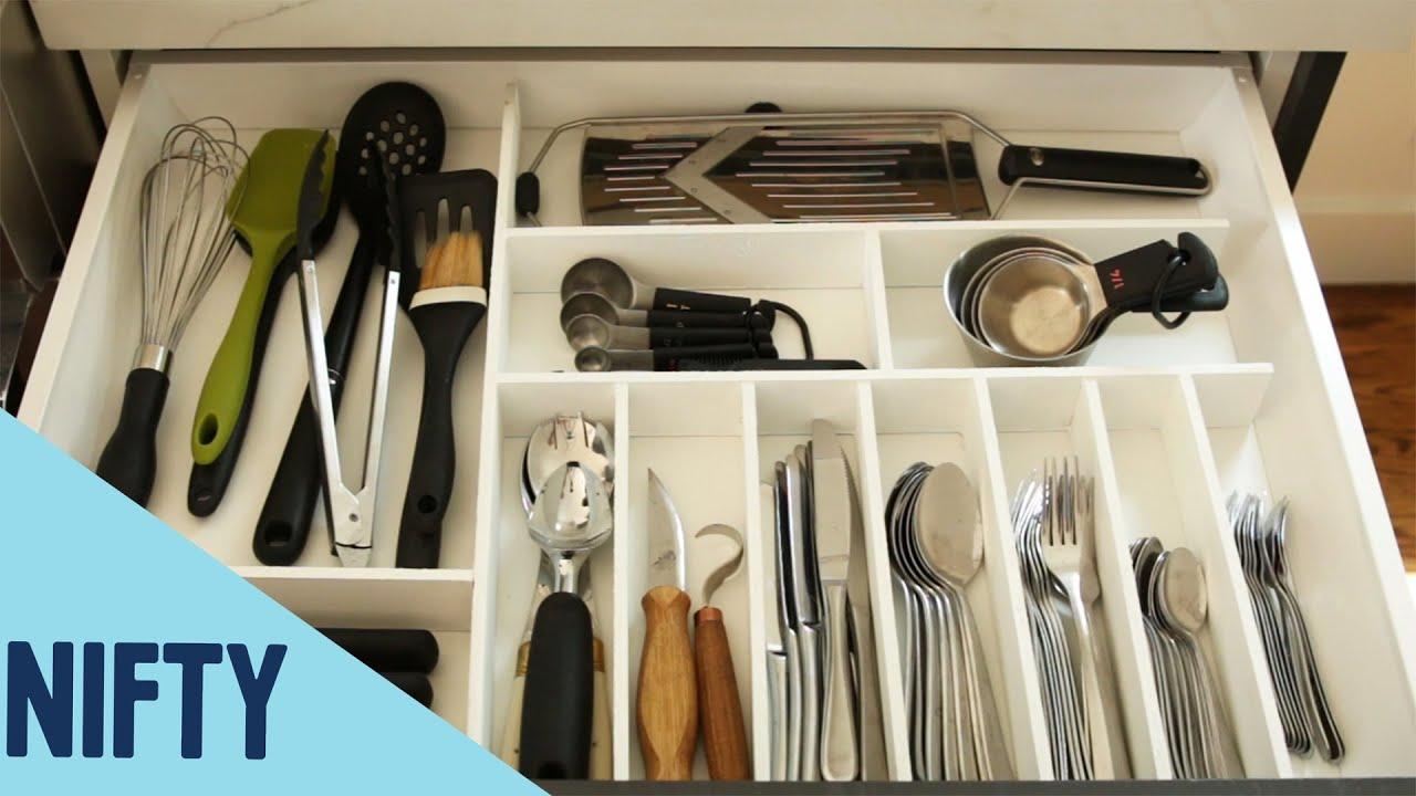 Easy Custom Kitchen Drawers