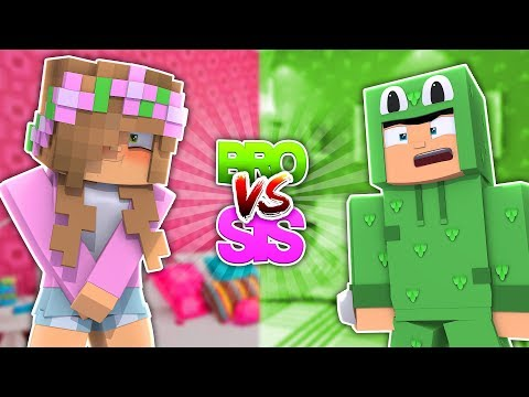 BRO VS SIS Challenge | WOULD YOU RATHER | Minecraft Little Kelly w/Little Lizard