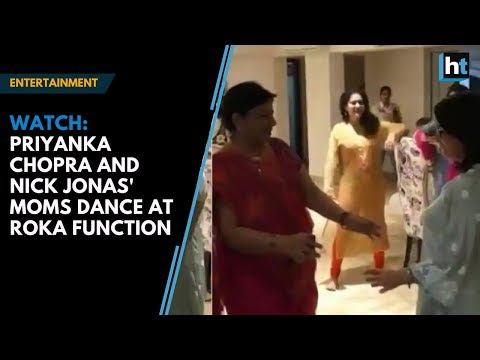 Watch: Priyanka Chopra and Nick Jonas' moms groove to hit Punjabi song at roka function Mp3