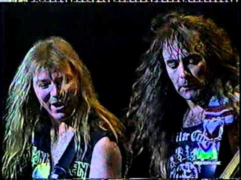Iron Maiden - Live 1993 - (Real Live Tour - 1993 Milan)
