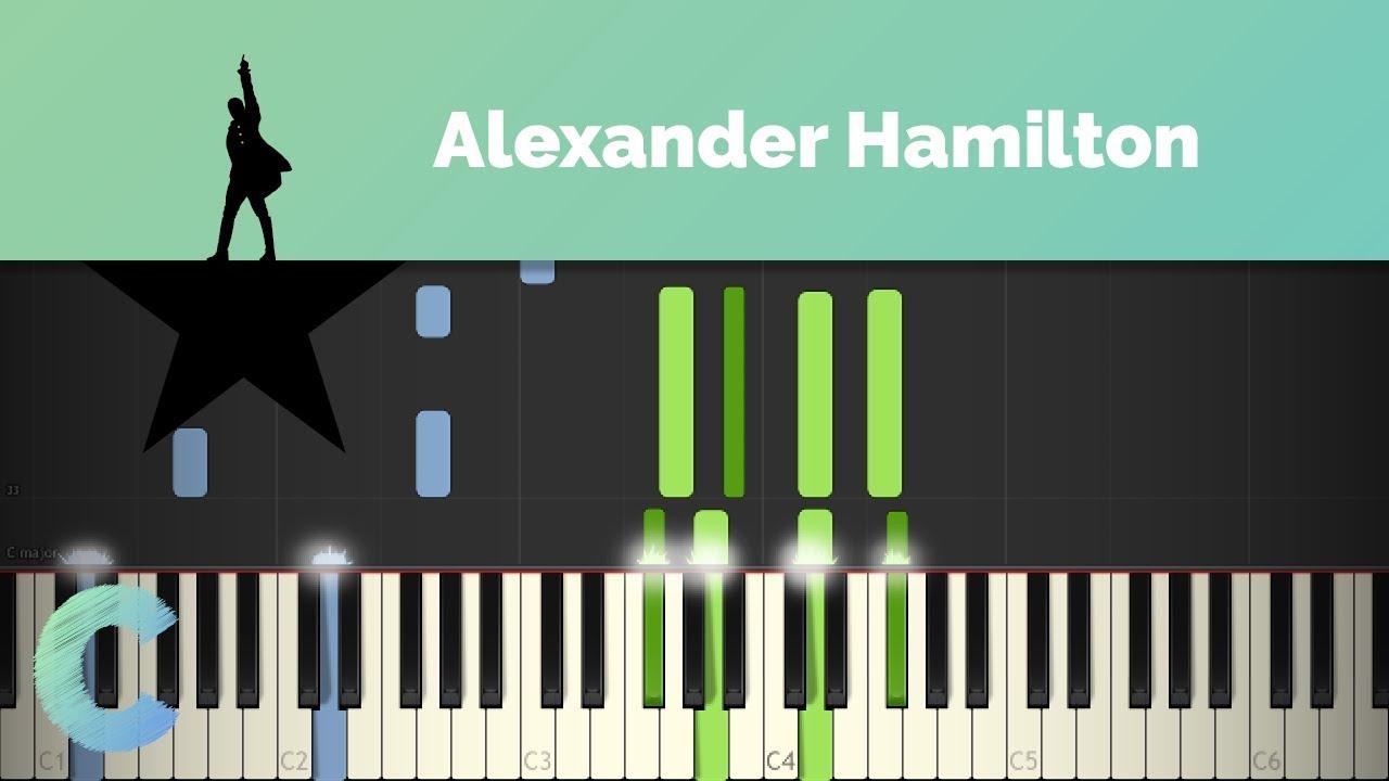 100 Photos of Hamilton Piano Cover
