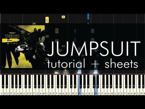 Twenty One Pilots - Jumpsuit - Piano Tutorial + Sheets