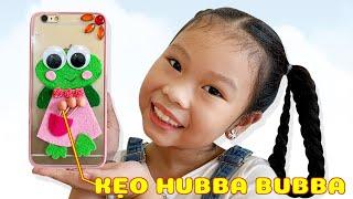 Hình Dán Có Túi Đựng Kẹo Hubba Bubba ❤Susi kids TV❤